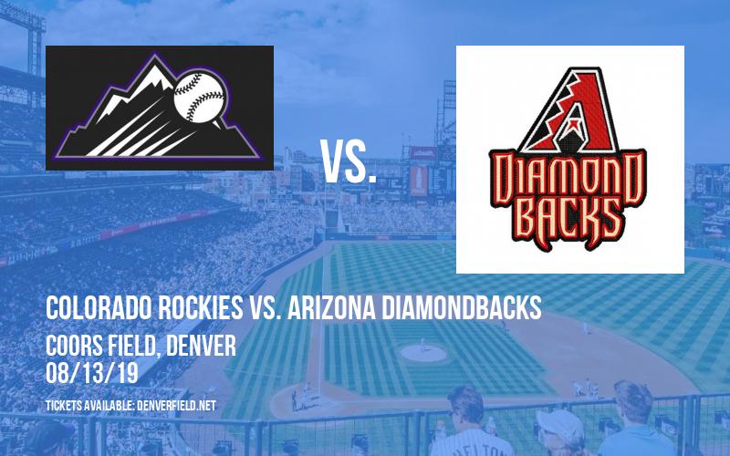 Colorado Rockies vs. Arizona Diamondbacks at Coors Field