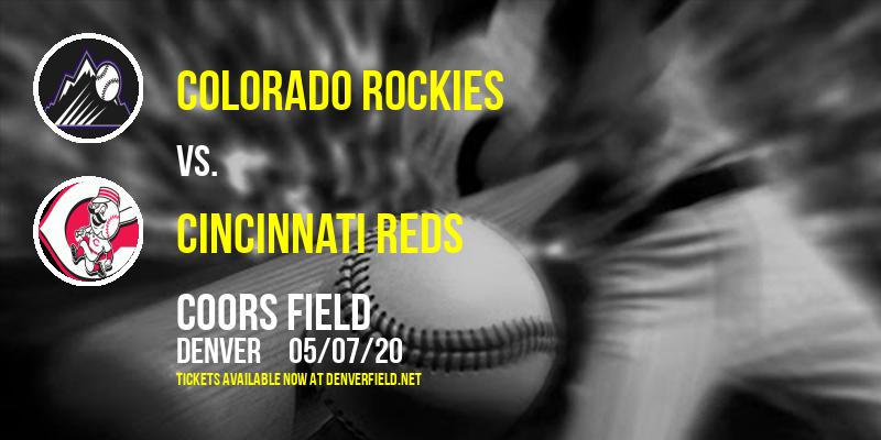 Colorado Rockies vs. Cincinnati Reds at Coors Field