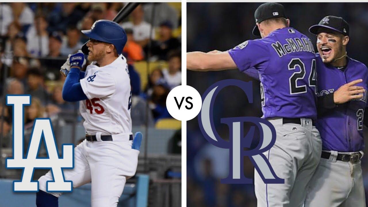 Colorado Rockies vs. Los Angeles Dodgers at Coors Field