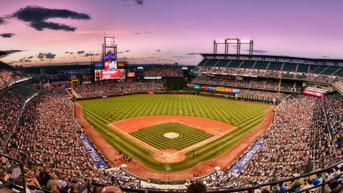Colorado Rockies vs. San Diego Padres at Coors Field