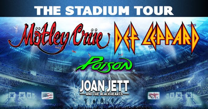 The Stadium Tour: Motley Crue, Def Leppard, Poison & Joan Jett and The Blackhearts at Coors Field