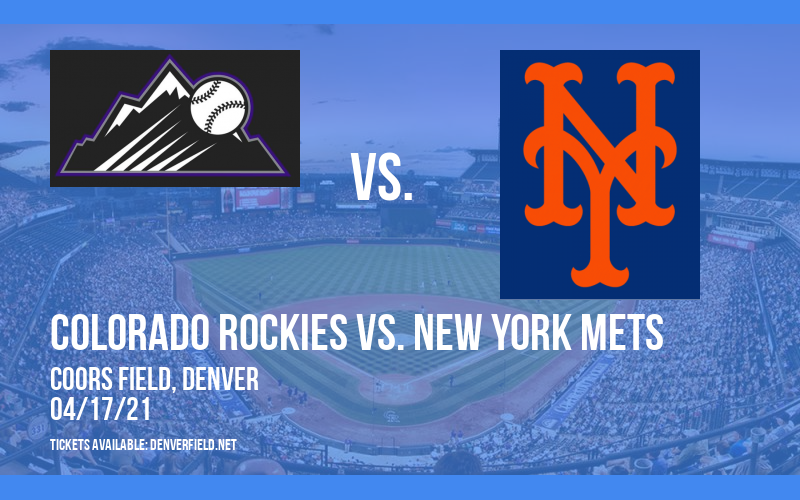 Colorado Rockies vs. New York Mets [CANCELLED] at Coors Field