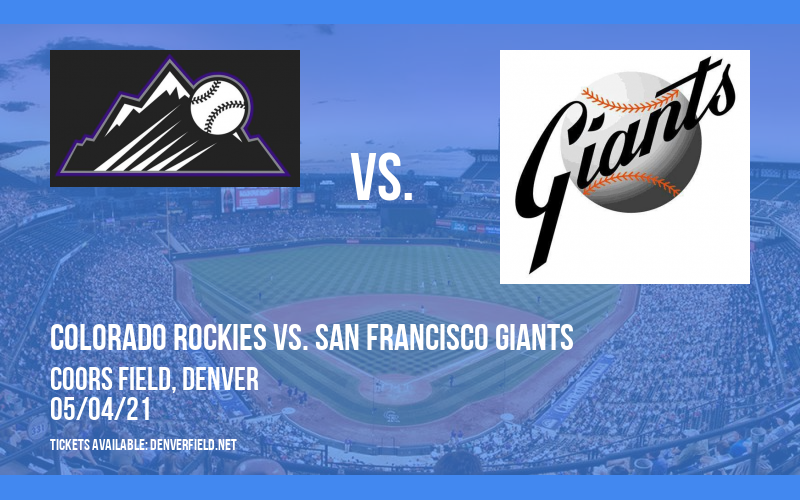 Colorado Rockies vs. San Francisco Giants [CANCELLED] at Coors Field