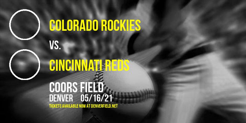 Colorado Rockies vs. Cincinnati Reds [CANCELLED] at Coors Field