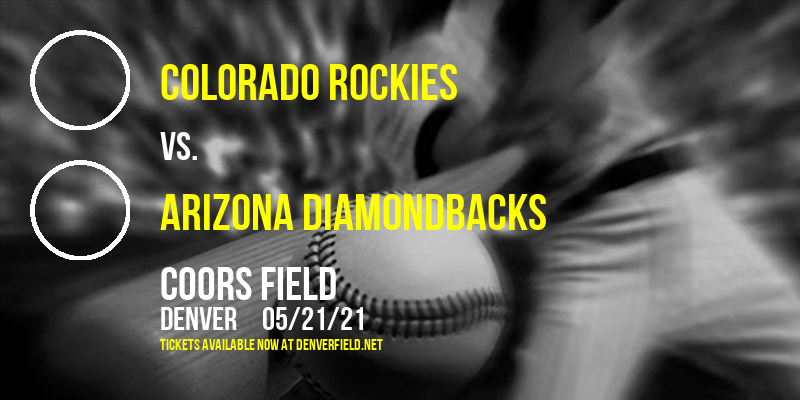 Colorado Rockies vs. Arizona Diamondbacks [CANCELLED] at Coors Field